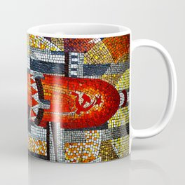 Spaceships Will Cross The Sky Coffee Mug