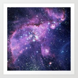 Small Magellanic Cloud Art Print