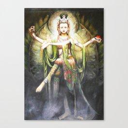 Hindu Durga 2 Canvas Print