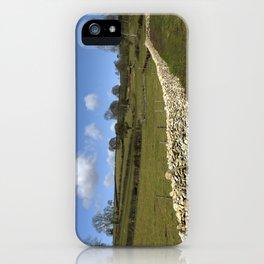 A Winter Wall (inc. wraparound Tshirt) iPhone Case