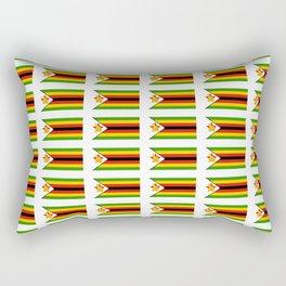 Flag of zimbabwe -Zimbabwe,Zimbabwean,Zimbo,harare,Bulawayo Rectangular Pillow