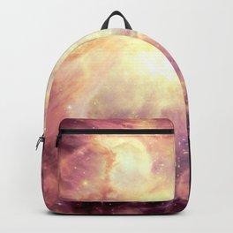 Mauve Colorful Pastel Orion Nebula Backpack