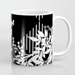 TOILE LEAF AND DIAMOND PATTERN Coffee Mug
