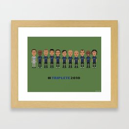 Internazionale 2010 Framed Art Print