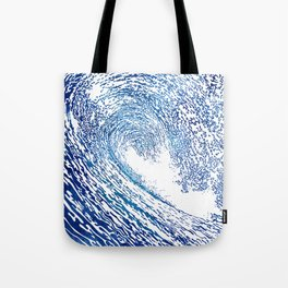 Pacific Waves IV Tote Bag