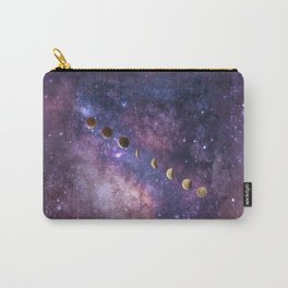 Abstract Outer Space Traveler Carry-All Pouch