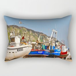 Fisherman's Beach Rectangular Pillow