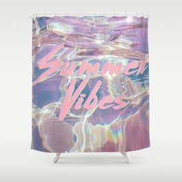 Summer Vibes II Shower Curtain