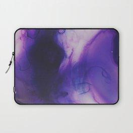 Violet Aura Laptop Sleeve