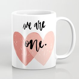 Soul mates hearts Coffee Mug