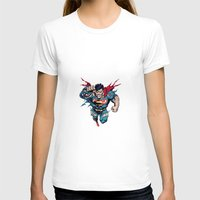 superman T-shirts featuring Superman by Mari Vasilescu