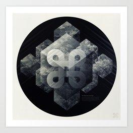 Geometry of Ecology Art Print