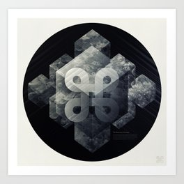 Geometry of Ecology Art Print