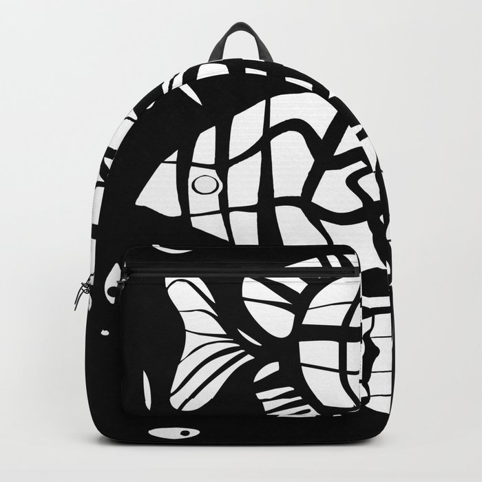 Fish . Zodiac sign Backpack