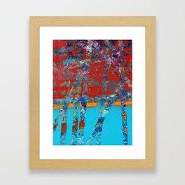 Let Down Framed Art Print