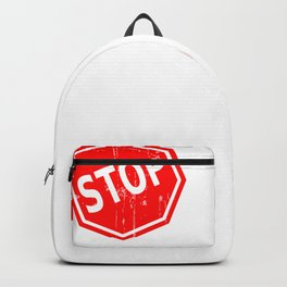 Stop Drinking   Support Sober Living Backpack