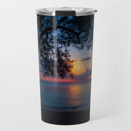 Ocean Island Sunset Travel Mug