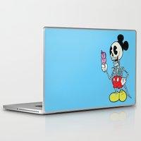 mickey Laptop & iPad Skins featuring Mickey Bones by Alejandro Giraldo