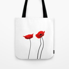 Simply poppies Tote Bag