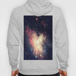 Deep Pastels Galaxy Space Sparkle Hoody