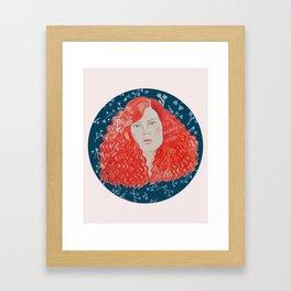 R E D H A I R Framed Art Print