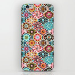 Bohemian summer iPhone Skin
