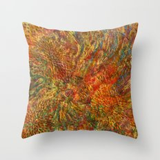 When love is painting... Throw Pillow