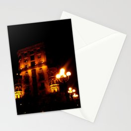 Night Crest 4 Stationery Cards