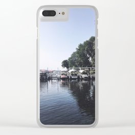 We've Got Lots of Boats Here, Wisconsin Lake Clear iPhone Case
