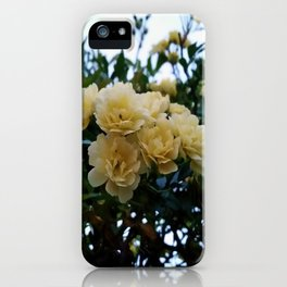 Little Yellow Flowers iPhone Case