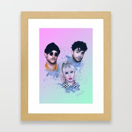 After Laughter | Digitial Painting Framed Art Print
