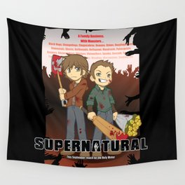 Supernatural - Goin to the Winchesters Wall Tapestry