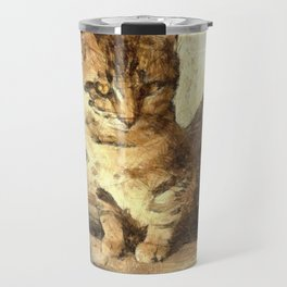 All Cats Are Black In The Dark Travel Mug