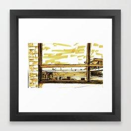Terminal C Framed Art Print