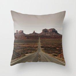 Run Forrest Throw Pillow