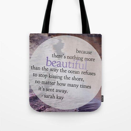 the ocean. Tote Bag
