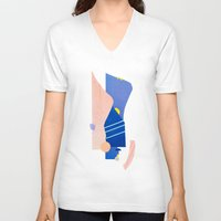 southwest V-neck T-shirts featuring southwest 2 by cardboardcities
