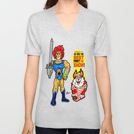 SNARF!  The greatest of ALL The Thundercats...  Way cooler than Lion-O! Unisex V-Neck