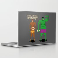 workout Laptop & iPad Skins featuring Sweet Workout by Hoborobo