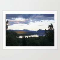 Photos from the north of Sweden  Art Print