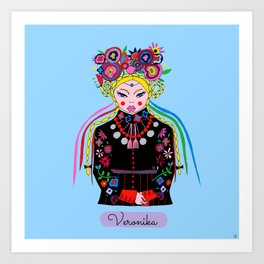 Veronika Art Print