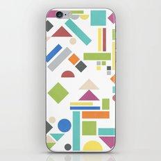 Geometry 1 colorful iPhone & iPod Skin