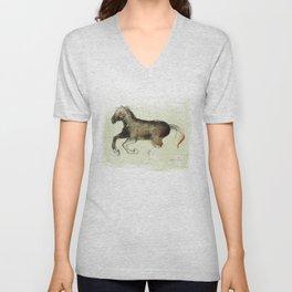 Horse (Gallop) Unisex V-Neck
