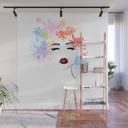 Fashion art,pop art Wall Mural