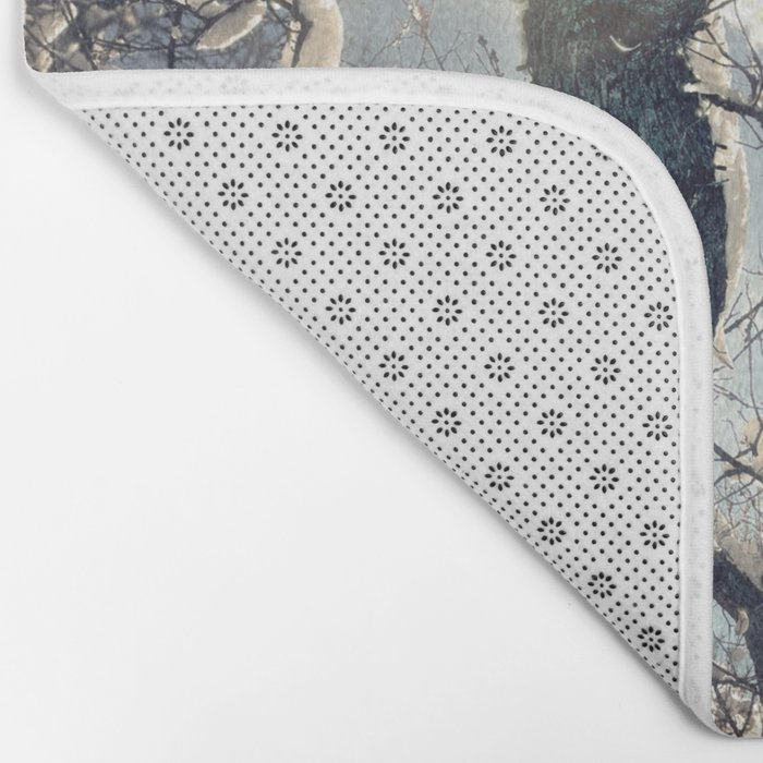 Morning Frost Bath Mat