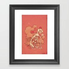 Son of Pew Pew Framed Art Print