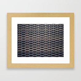 Basketwork Framed Art Print