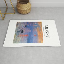 Monet - Impression, Soleil Levant Rug