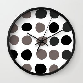Dunkle Punkte 001 Wall Clock