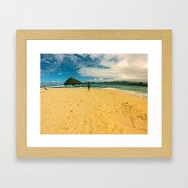 Mokulua Island / Lanikai Framed Art Print